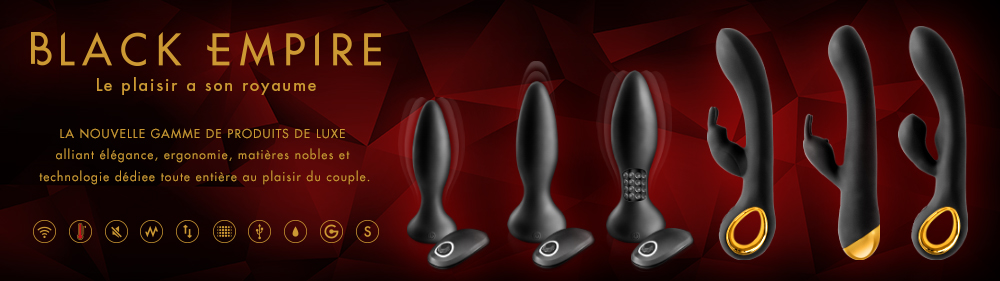 sextoys plugs black empire pas cher grossiste pro