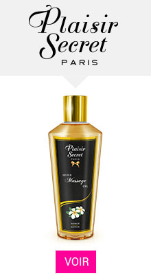bougie massage Plaisir Secret