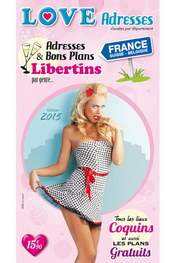 Guide love adresses france 2015