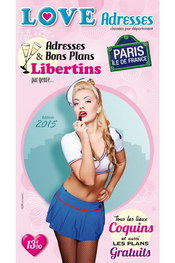 Guide love adresses paris 2015