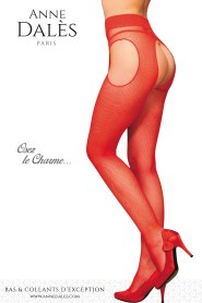Poster promotionnel des collants anne dalès