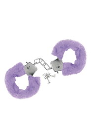 Menottes fourrure violette sweet caress