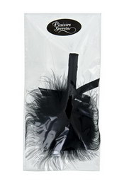 Secrete feather black