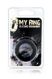 My ring silicone black m