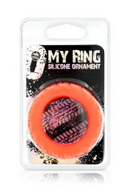 My ring silicone red l