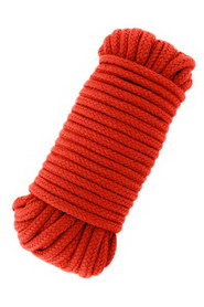 Love rope 10m red