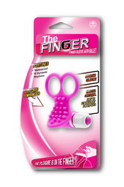 The finger ring pink