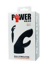 Power head dual stimulation wand