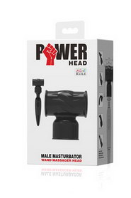 Power head male masturbator