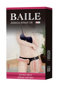Belt jessica strap on double