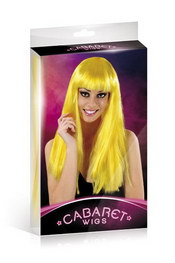 Cabaret wigs yellow long