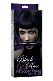 Black rose forbidden flowermouth