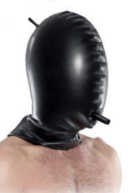 Total blackout latex hood