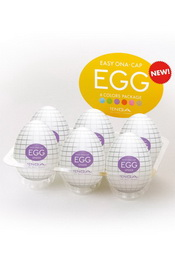 Egg spider set of 6 pcs