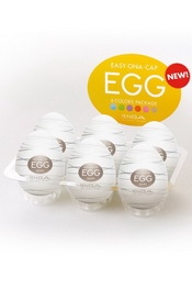 Egg silky set of 6 pcs