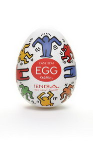 Keith haring egg dance - 6 pcs