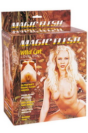 Poupee magic flesh wild cat