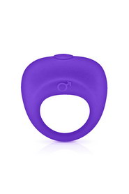 Vibrating cockring purple glamy