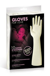 Gloves for love 10gants latex ml