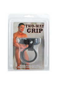 Two way grip - cockring reglable
