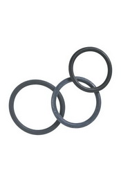 Cock & ball rings rubber set x3