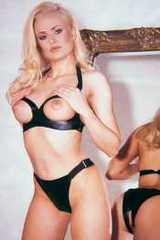 Topless bra and panties tu noir