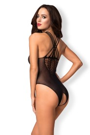 Body sexy ouvert noir b118 obsessive