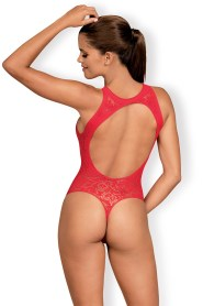 Body string ouvert rouge b120 obsessive