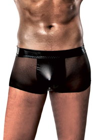 Boxer passion homme transparent noir