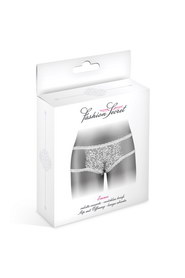 Culotte ouverte blanche emma fashion secret