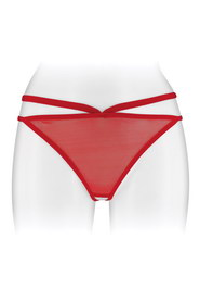 String rouge ouvert sylvie fashion secret