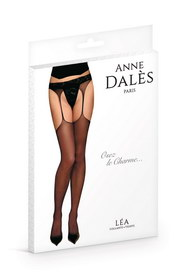 Collant anne d ales jarretelles lea noir