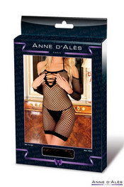 Robe anne d ales diable innocent en résille noir