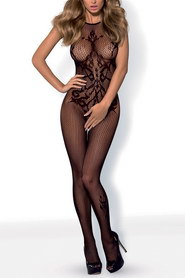 Bodystocking résille effet tatoo g308 obsessive