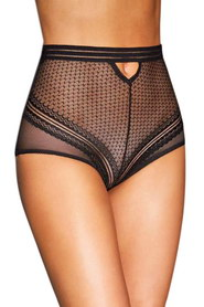 Culotte haute noire p5154 paris hollywood