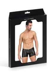 Boxer noir homme avec zip paris hollywood