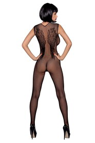 Bodystocking résille effet tatouage n112 obsessive