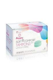 Soft comfort tampons dry x8