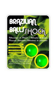 2 shock brazilian balls set