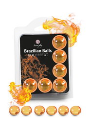 6 hot effect brazilian balls