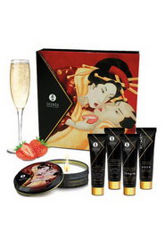 Ensemble secrets geisha fraise