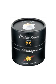 Bougie de massage vanille plaisir secret