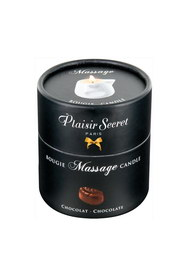 Bougie de massage chocolat plaisir secret