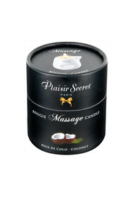 Bougie de massage noix de coco plaisir secret
