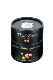 Bougie de massage bubble gum plaisir secret