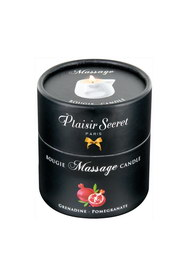 Bougie de massage grenadine plaisir secret