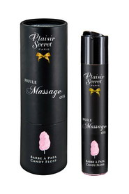 Huile de massage barbe à papa plaisir secret 59ml