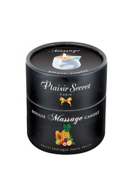 Bougie de massage ananas/mangue plaisir secret