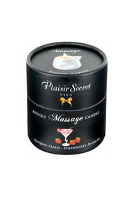 Bougie de massage daïkiri fraise plaisir secret