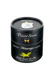 Bougie de massage ylang/patchouli plaisir secret